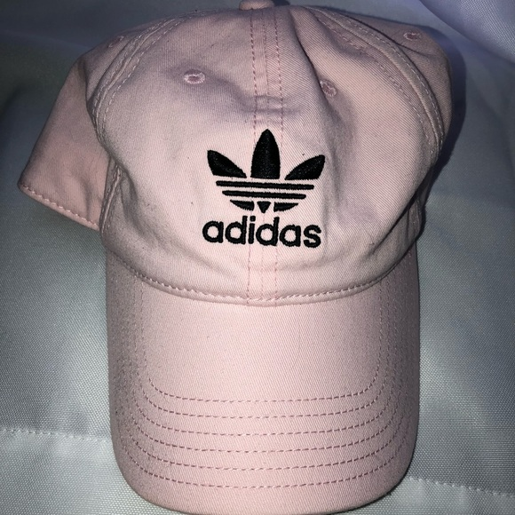 67360046 adidas Accessories   Light Pink Hat   Poshmark
